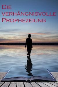 Junge läuft auf einem Buch aus Wasser