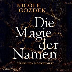 """Hörbuch-Cover von """"Die Magie der Namen"""""""
