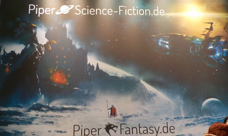 großer Piper Fantasy- und Science Fiction-Plakat
