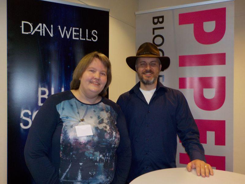 Treffen mit Dan Wells
