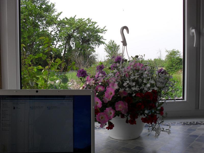 die Schreibhütte - mein Schreibplatz im Urlaub