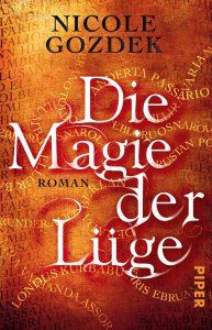"""Taschenbuchcover zum Roman """"Die Magie der Lüge"""""""