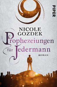 """Buchcover zum Fantasyroman """"Prophezeiungen für Jedermann"""""""